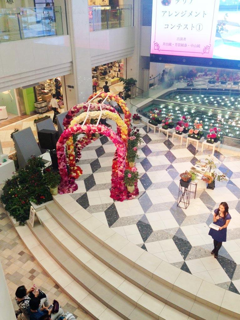 10月7日(金)ダリアの華展を訪ねました。