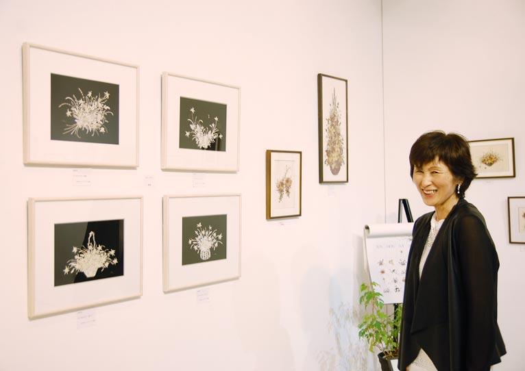 2016年10月bunkamura大沢節子 小さな花の押し花展に行ってきました!