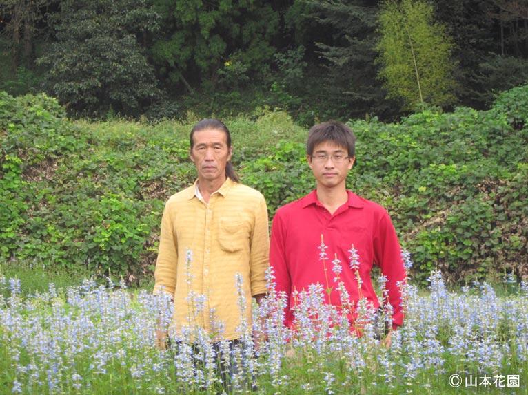 NURSERIES vol.4 山本花園 山本 茂登さん(左)と拓也さん(右)
