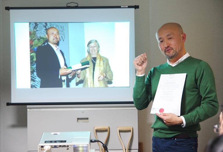第6回JGN音羽サロン『出版記念!英国流園芸テクニック~世界遺産キューガーデンに学ぶ~』の様子