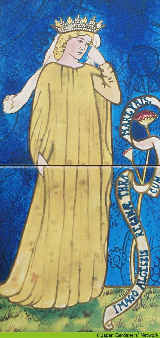 【JGN WEB SHOP】ウイリアム・モリス デザインタイル額装 ウィリアムモリスタイル社製 WILLIAM MORRIS TILES