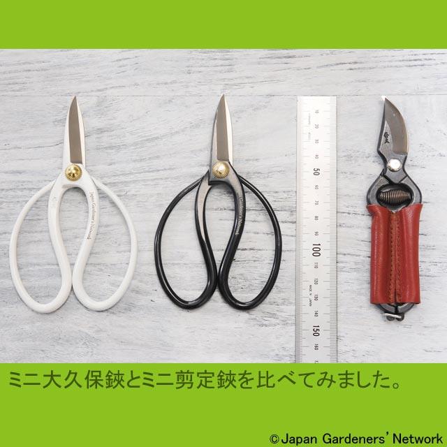 【JGN WEB SHOP】外山刃物製 ミニ剪定鋏(ケース付)
