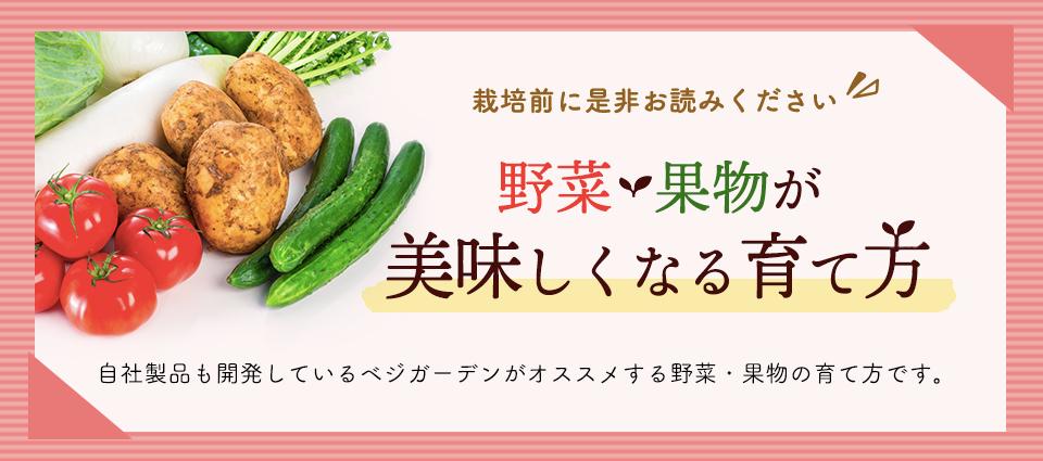 野菜・果物が美味しくなる育て方 ベジガーデン Vege Garden 朝日工業(株)