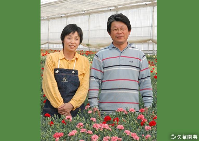 NURSERIES vol.5矢祭園芸金澤美浩さん(右)・由美子さん(左)