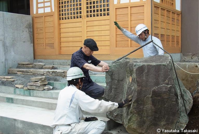 2017年7月22日 第12回JGN音羽サロン「今こそ知りたい!庭石について Vol.2」講師:JGN理事 髙﨑康隆氏