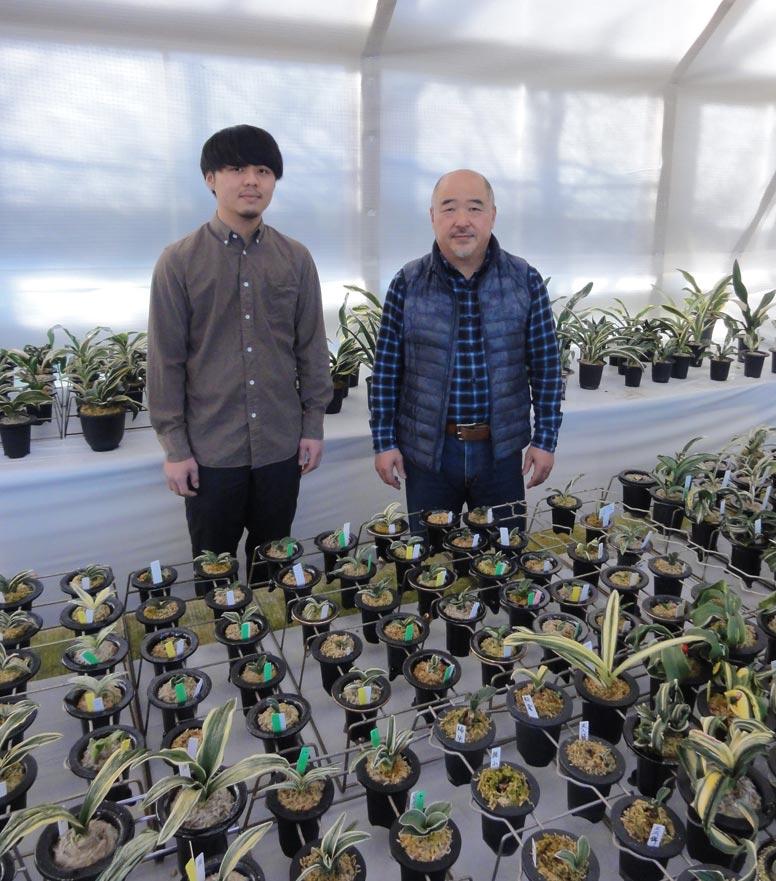 NURSERIES vol.10 春光園 酒井宏幸さん(左)・光康さん(右)
