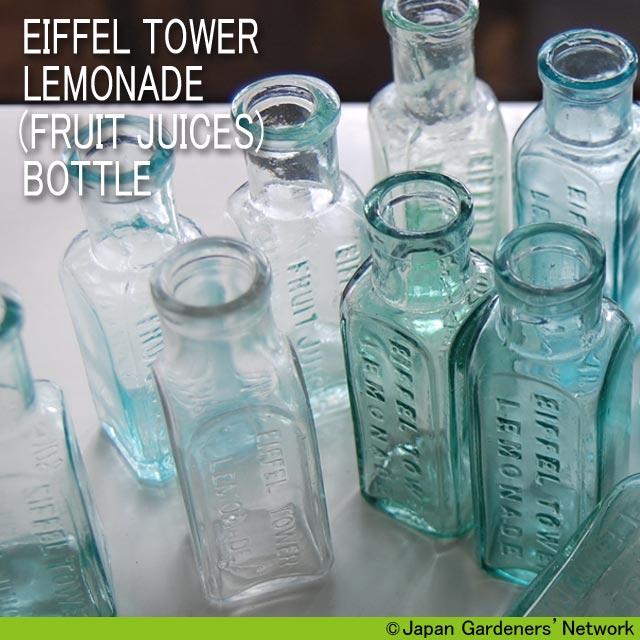 【JGN WEB SHOP】アンティークボトル EIFFEL TOWER LEMONADE  (FRUIT JUICES) BOTTLE