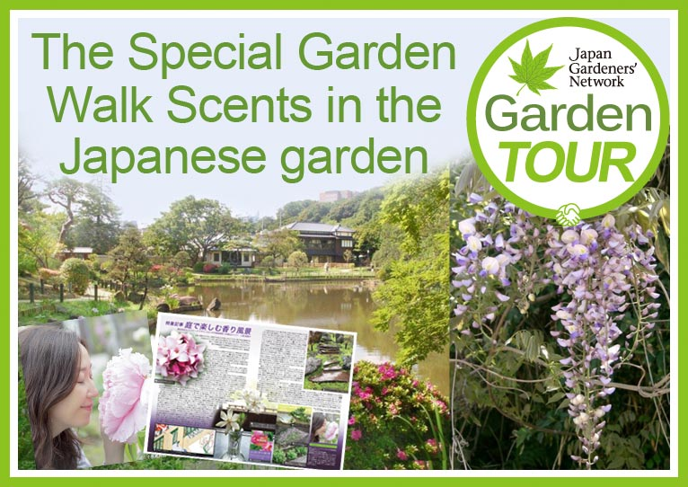 Saturday 21 April 2018 The Special Garden Walk Scents in the Japanese garden