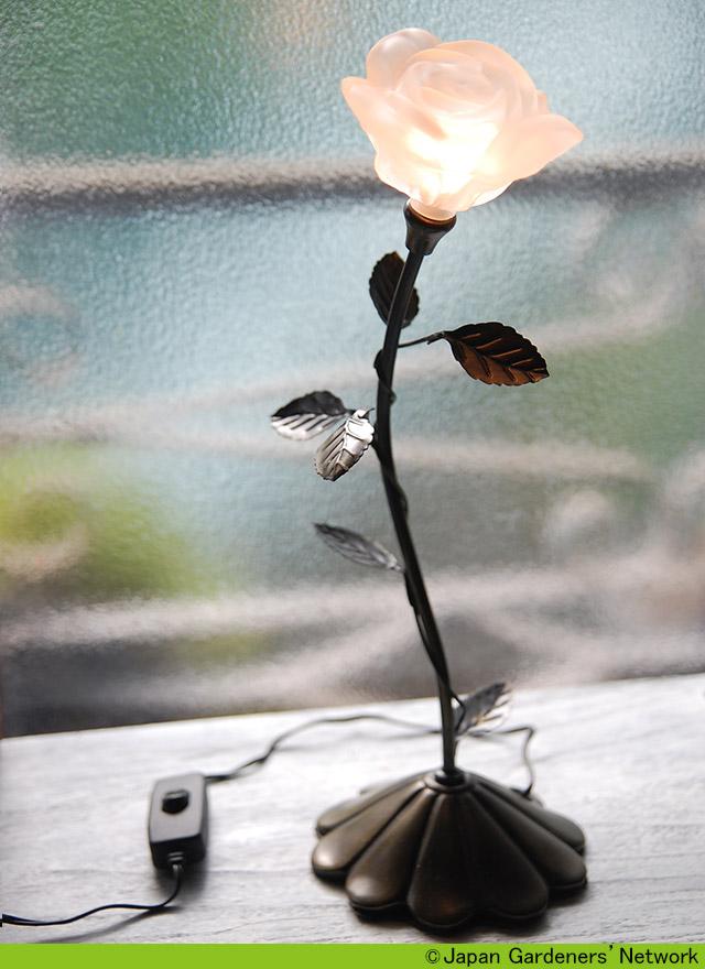 【JGN WEB SHOP】薔薇のランプ