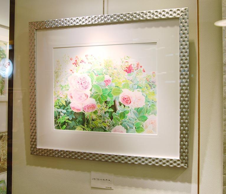 第17回 花の水彩画会 生徒作品展・渡辺三絵子 個展に行ってきました!