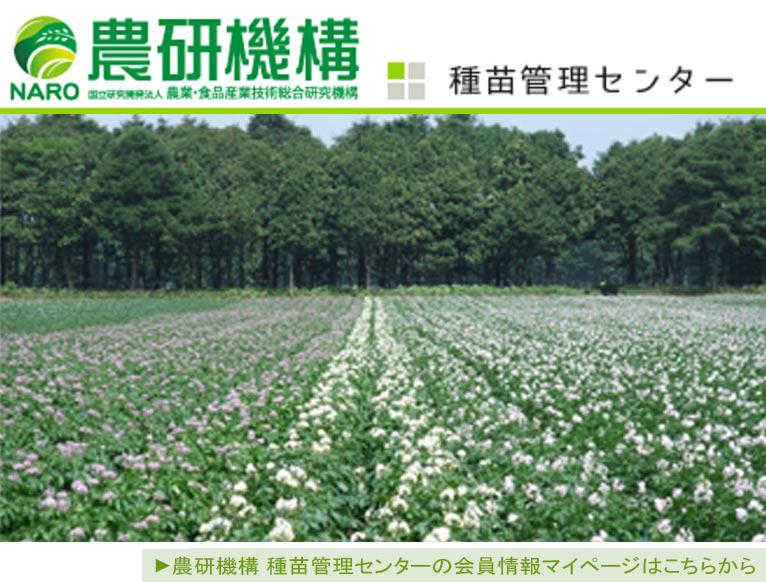 【JGN法人会員】 農研機構 種苗管理センターの会員情報マイページはこちらから