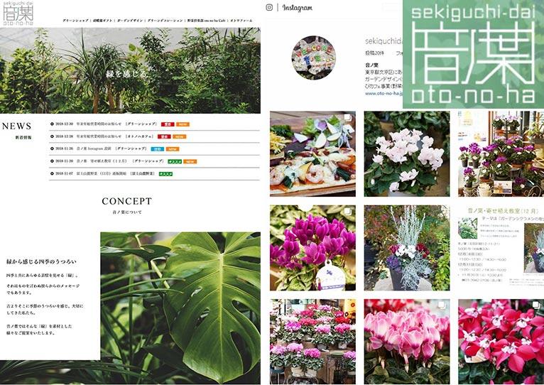 Instagramインスタグラムを始めました! 音ノ葉oto-no-ha