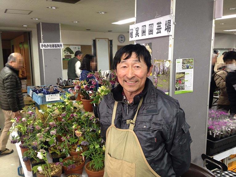 2019年3月8~10日 第26回 山草フェアー 上野グリーンクラブ(東京) JGN創立メンバーの川原田さんが出展!