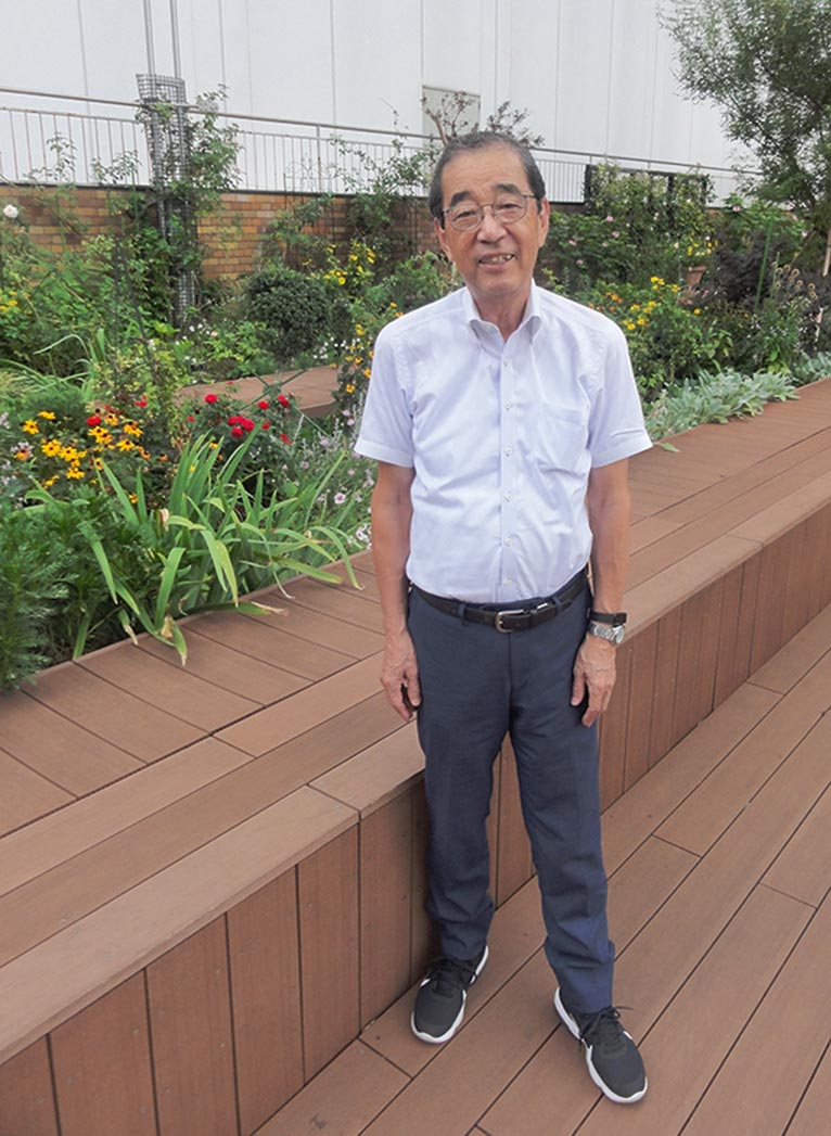 JGN NEWS LETTER 2019年初秋号 Vol.12(その1)Comment(コメント)JGN創立メンバー 園芸家 吉原 伸夫氏