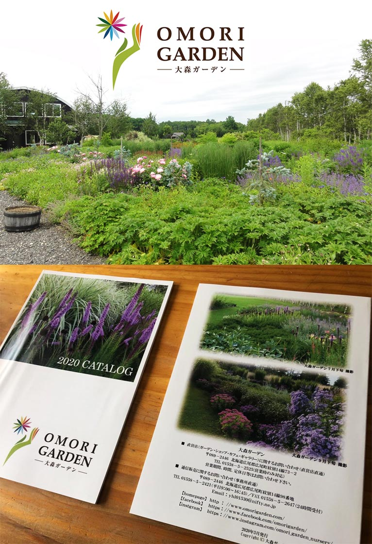 2020年版カタログが出来上がりました。 大森ガーデン