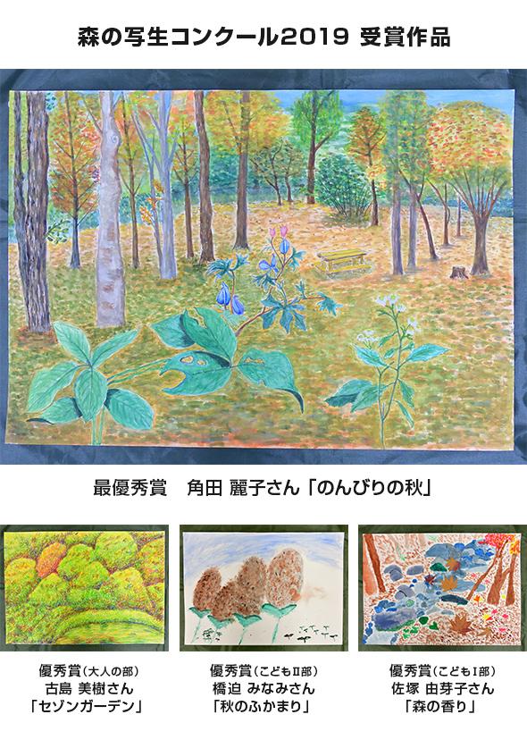 森の写生コンクール2020赤城自然園
