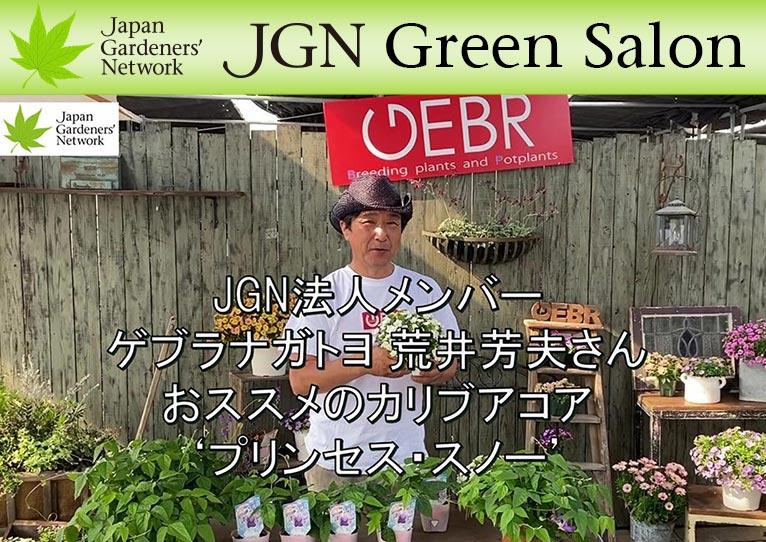 YouTube動画【JGN グリーンサロン】 JGN法人メンバー 株式会社ゲブラナガトヨ 荒井芳夫さんおススメのカリブアコア 'プリンセス・スノー'