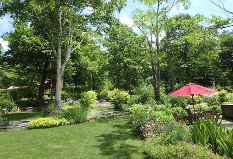 大雪森のガーデンへ 森の迎賓館ガーデンデザイナー 笠 康三郎氏