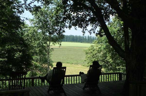 大雪森のガーデンへ 森の迎賓館ガーデンデザイナー 笠 康三郎氏『青柳庵日記』より
